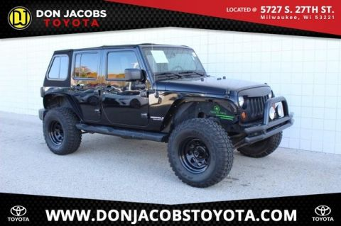 Pre-Owned 2008 Jeep Wrangler Unlimited Sahara 4WD 4D Sport Utility