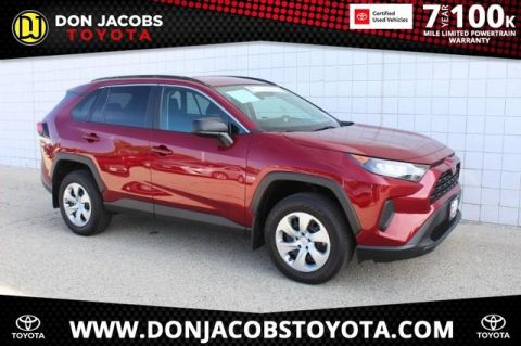 Certified Pre-Owned 2019 Toyota RAV4 LE AWD 4D Sport Utility