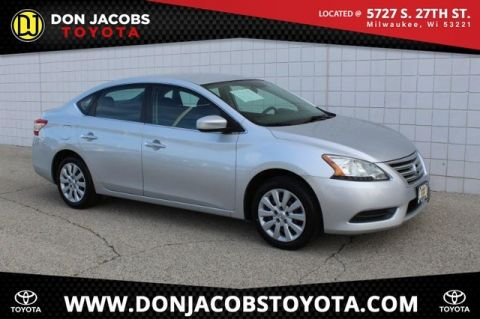 Pre-Owned 2013 Nissan Sentra SV FWD 4D Sedan