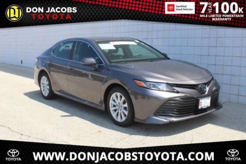 Certified Pre-Owned 2019 Toyota Camry LE FWD 4D Sedan