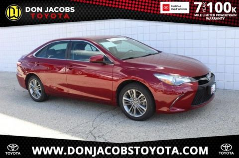 Certified Pre-Owned 2017 Toyota Camry SE FWD 4D Sedan