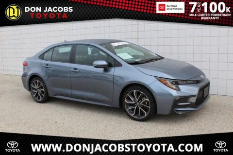 Certified Pre-Owned 2020 Toyota Corolla SE FWD 4D Sedan