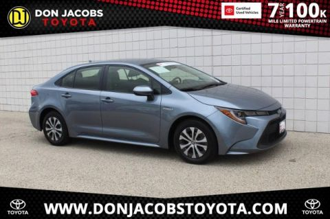 Certified Pre-Owned 2020 Toyota Corolla Hybrid LE FWD 4D Sedan