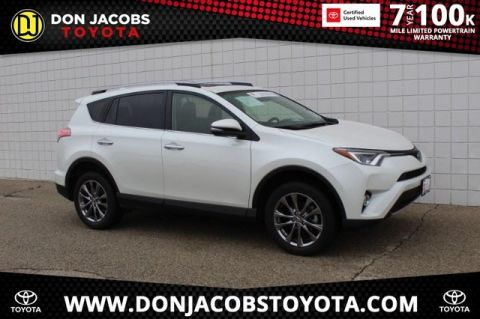 Certified Pre-Owned 2018 Toyota RAV4 Limited AWD 4D Sport Utility