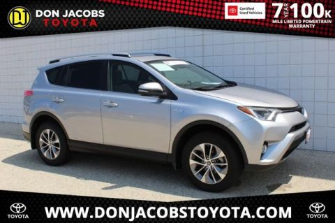 Certified Pre-Owned 2018 Toyota RAV4 Hybrid XLE AWD 4D Sport Utility