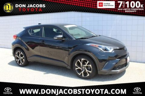 Certified Pre-Owned 2019 Toyota C-HR XLE FWD 4D Sport Utility